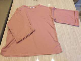 Pink Top oversized