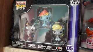 funko hasbro pocket pop my little pony original discor rainbow dash. baru gres. dan ORIGINAL 1000PERSEN.
