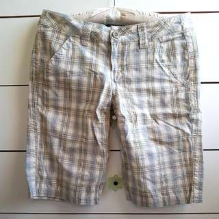 Plaid Bermuda Shorts