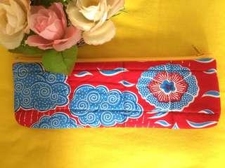 Handmade Batik Pencil Case
