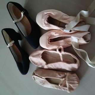 Ballets Shoes.
