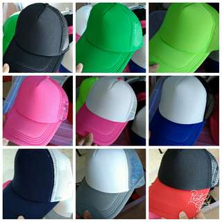 Customise iron on adult/kid caps with 4 alphabets/numbers free