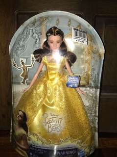 Beauty and the Beast Enchanting Melodies Doll