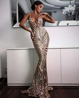 Valentina evening gown
