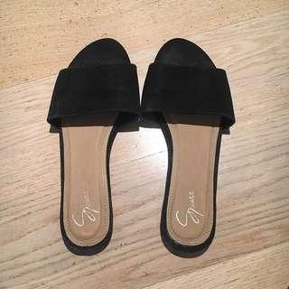 Spurr Black Slides