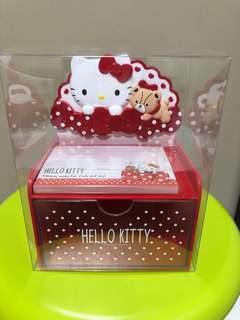 Hello Kitty Memo Pad in Chest (bought from Japan)