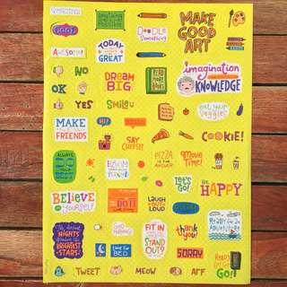 Sticker Sheet By: Ella Llama