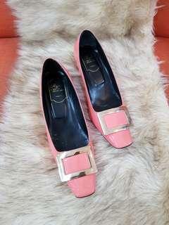 Authentic Roger Vivier Decolleté Belle Vivier Womens Pumps Size 39