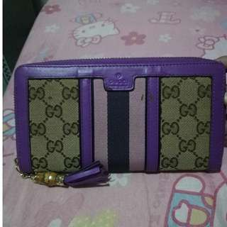 Preloved Gucci long wallet