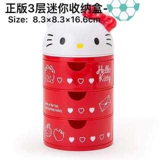 Hello Kitty Accessories Organizer Holder Box