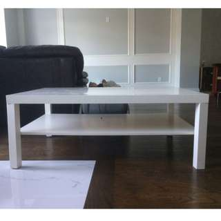 FREE white Ikea Lack Coffee Table (46.5'' by 30.75'')