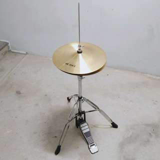Hi Hat with heavy duty stand