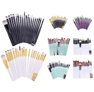 20 pcs. Professional Makeup brush set