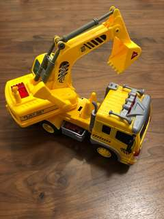 🚚 Construction Digger Toy