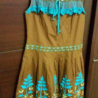 🚚 二手,米蘭風洋裝
