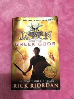 Buku Percy Jackson and The Greek Gods
