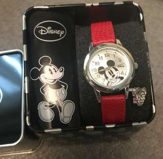 Disney Mickey Mouse with charm (Authentic)