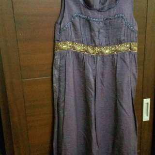 🚚 二手,高貴紫洋裝