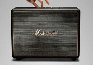 Marshall Woburn Bluetooth Speaker Black.