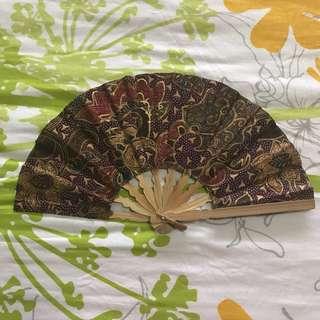 Batik Style Fan