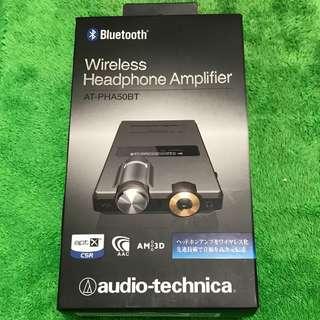 audio-technica AT-PHA50BT wireless Headphone Amplifier