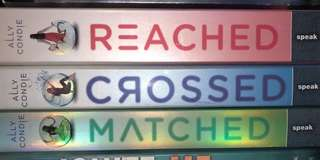 Matched crossed reached trilogy