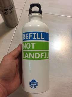 Sigg of Switzerland water bottle