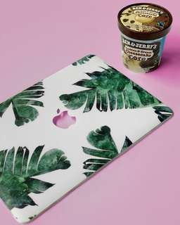 Banana Leaf Laptop Hard Case