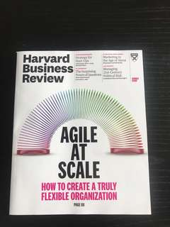 Harvard business review June edition