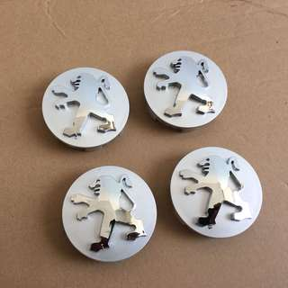 Peugeot Wheel Cap Standard 60mm