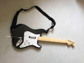 🚚 Preloved Xbox rock Band Harmonix Fender Stratocaster Wireless Guitar