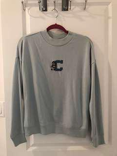 Light Blue Crew Neck