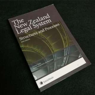 NZ LEGAL SYSTEM