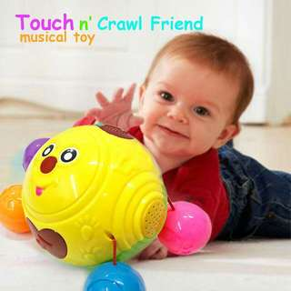 Go touch and crawl baby toy