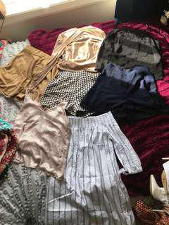 BULK CLOTHES size 6-8