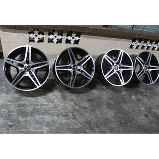 Sport Rim 18 Inchi Mercedes AMG