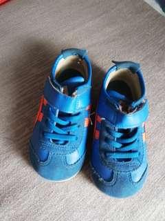 Original Onitsuka Tiger Baby Shoes K7 Classic Blue and Orange