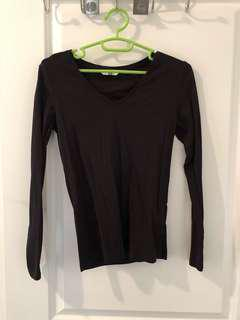 Uniqlo Basic Long Sleeve Top