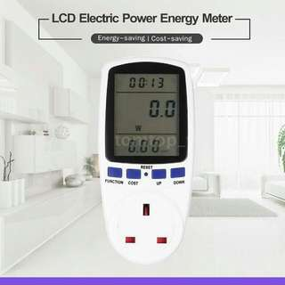 Monitor Energy Consumption – Meter/Monitor/Analizer for Wattage, Voltage, and Electricity