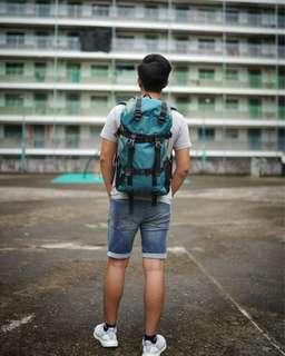多功能間隔實用大容量背包/行山袋/旅行袋