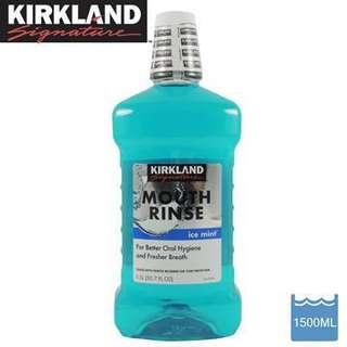 🚚 [現貨]KIRKLAND 勁涼薄荷漱口水 1500ml/瓶