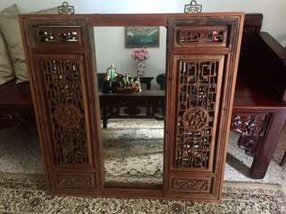 Lovely Antique Chinese Mirror
