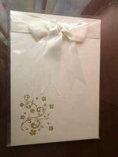 BNIB Wedding Guest Book