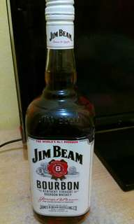Jim Beam Bourbon Whiskey Whisky 100% Original