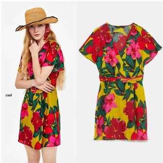 flora casual mini dress