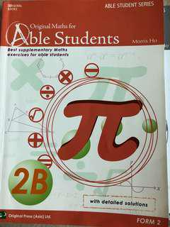 Able Students Maths 2B (with answer)