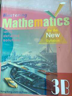 Mastering Mathematics 3B (with detailed solution)