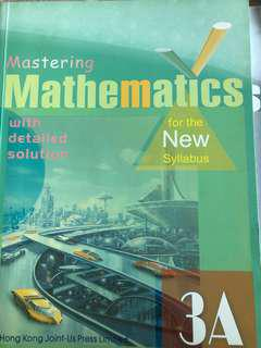 Mastering Mathematics 3A (with detailed solution)