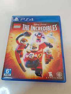 PS4 LEGO THE INCREDIBLES Game