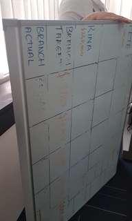 Huge whiteboard for office or school